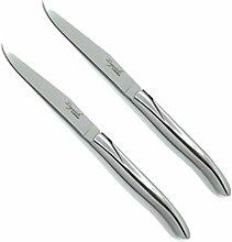 Laguiole Steakmesser-Set, geschmiedet, Griff aus
