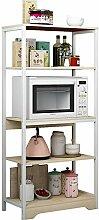 Laishutin Küche Storage Racks 4 Tier Kitchen