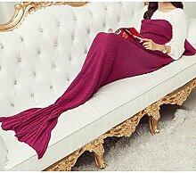 Laixing Gute Qualität 195cmX90cm Crocheted Tail