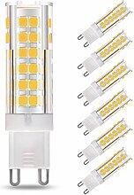 LAKES 6er-PACK G9 LED Lampe, 7W (60W