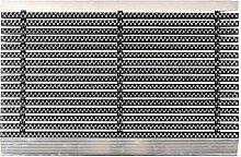 LAKO Fußmatte Bristol, Kunststoff, 900 grau, 75 x