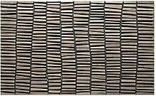 LAKO Fußmatte, Gummi, 75 x 45 x 1