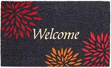 LAKO Fußmatte, Kokos, 533 Sprüche Welcome mit