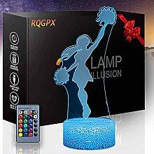 Lala Tanz 3D LED Optische Illusions-Lampe 16