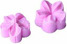 Lalang Rosa Blätter Silikonform DIY Kuchen Dekorative Backen-Werkzeuge