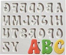 Lalang Silikon Zahlen and Buchstaben DIY Kuchen