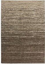 Lalee 347250295 Exklusiver, Hochwertiger Designer Teppich mit trendigem Farbverlauf, 200 x 290 cm, beige / brauntönen