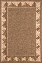 Lalee Flachgewebe-Teppich in Sisaloptik mit