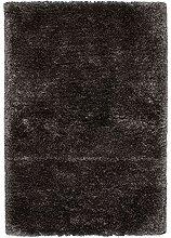 Lalee Hochwertiger Kuschelteppich, Graphit, 120 x