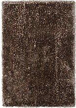 Lalee Hochwertiger Kuschelteppich, Nougat, 60 x