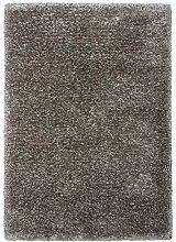 Lalee Hochwertiger Kuschelteppich, Titan, 80 x 150