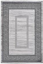 Lalee Teppich mit Glanzgarn, Silber, 80 x 150 cm