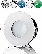 lambado® LED Spots Flach für Badezimmer IP65 in