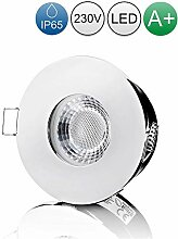 lambado® LED Spots für Badezimmer IP65 in Chrom