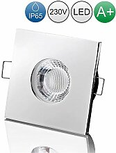 lambado® LED Spots für Badezimmer IP65 in Chrom