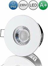 lambado® LED Spots für Badezimmer IP65 in Weiss