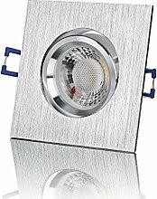 lambado® Premium LED Spot 230V Alu gebürstet -