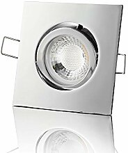 lambado® Premium LED Spot 230V Chrom - Hell &