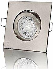 lambado® Premium LED Spot 230V Edelstahl