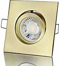 lambado® Premium LED Spot 230V Gold - Hell &