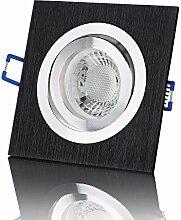 lambado® Premium LED Spot Dimmbar Schwarz
