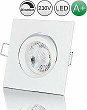 lambado® Premium LED Spot Dimmbar Weiß - Hell &