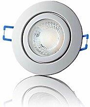 lambado® Premium LED Spot IP44 Chrom - Hell &