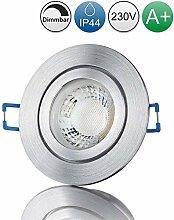 lambado® Premium LED Spot IP44 Dimmbar Alu