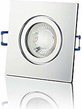 lambado® Premium LED Spot IP44 Dimmbar Chrom -
