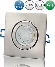 lambado® Premium LED Spot IP44 Edelstahl