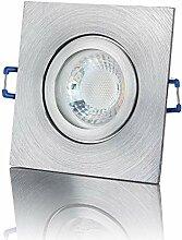 lambado® Premium LED Spot IP44 Flach Alu