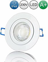 lambado® Premium LED Spot IP44 Weiß - Hell &