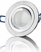 lambado® Premium LED Spots 230V Flach in Alu