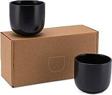 Lambda Coffee® Cappuccino Tassen Set 2 x 160ml in