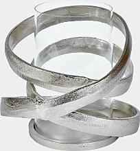 Lambert Lombardo Windlicht Aluminium mit