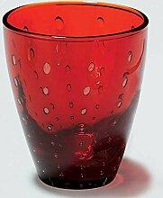 Lambert - Odile - Glas Mit Tropfe - Rot - H10,5 x