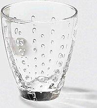 Lambert Odile, Glas Mit Tropfen, Klar, H10,5 D9 cm
