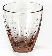 Lambert Odile Glas Mit Tropfen Light Pink H10,5