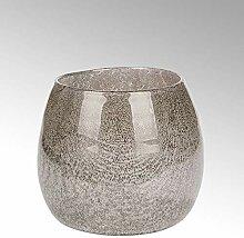 Lambert Porano Vase Magnolie Glas mit Kupfernetz H