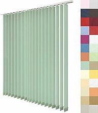 Lamellenvorhang nach Maß, 27 Farben, alle