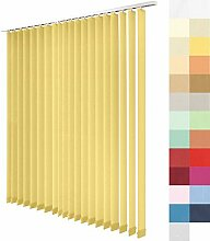 Lamellenvorhang nach Maß, 27 Farben,