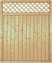 Lamellenzaun Prag B150 x H180 cm.