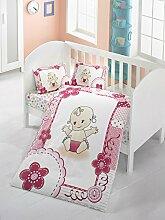 LaModaHome Baby-Bettwäsche-Set, für Babys,
