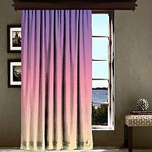 lamodahome Luxus Fenster Vorhang für