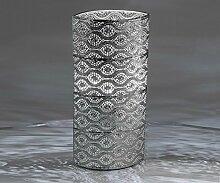 Lampe 'Capri', 38 cm, silber