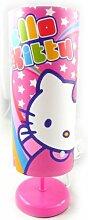 Lampe 'Hello Kitty' rosa.