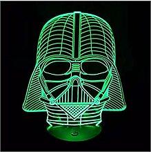 Lampe 7 Farbwechsel Stimmungslampe Star Wars Darth