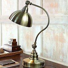 Lampe Antiken Vintage Lampe Schlafzimmer Dekoration Schreibtisch Lampe Metal Lesung Schreibtisch Lampe