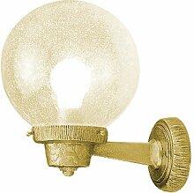Lampe Aussenleuchte 1400 in massiv Messing mit