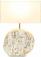 Lampe B x H x T: 35x54x16cm Holz Treibholz Unikat Tischleuchte Dekoration